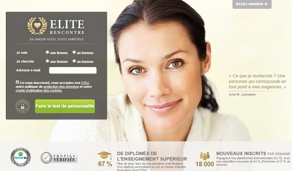 tarif elite rencontre