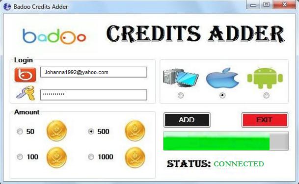 Comment acheter des crédits sur Badoo