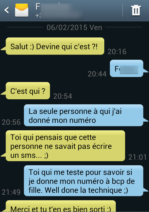 Comment draguer par SMS ?